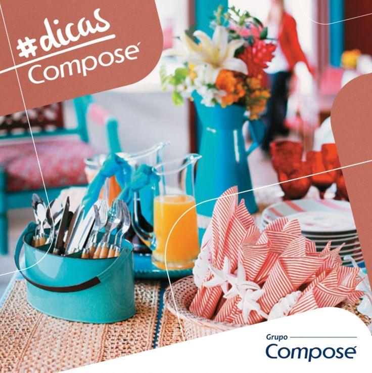 Se você costuma receber visitas? Separamos algumas dicas para não errar na hora. Confere lá no blog  http://www.compose.com.br/post-comportamento.php?id=46