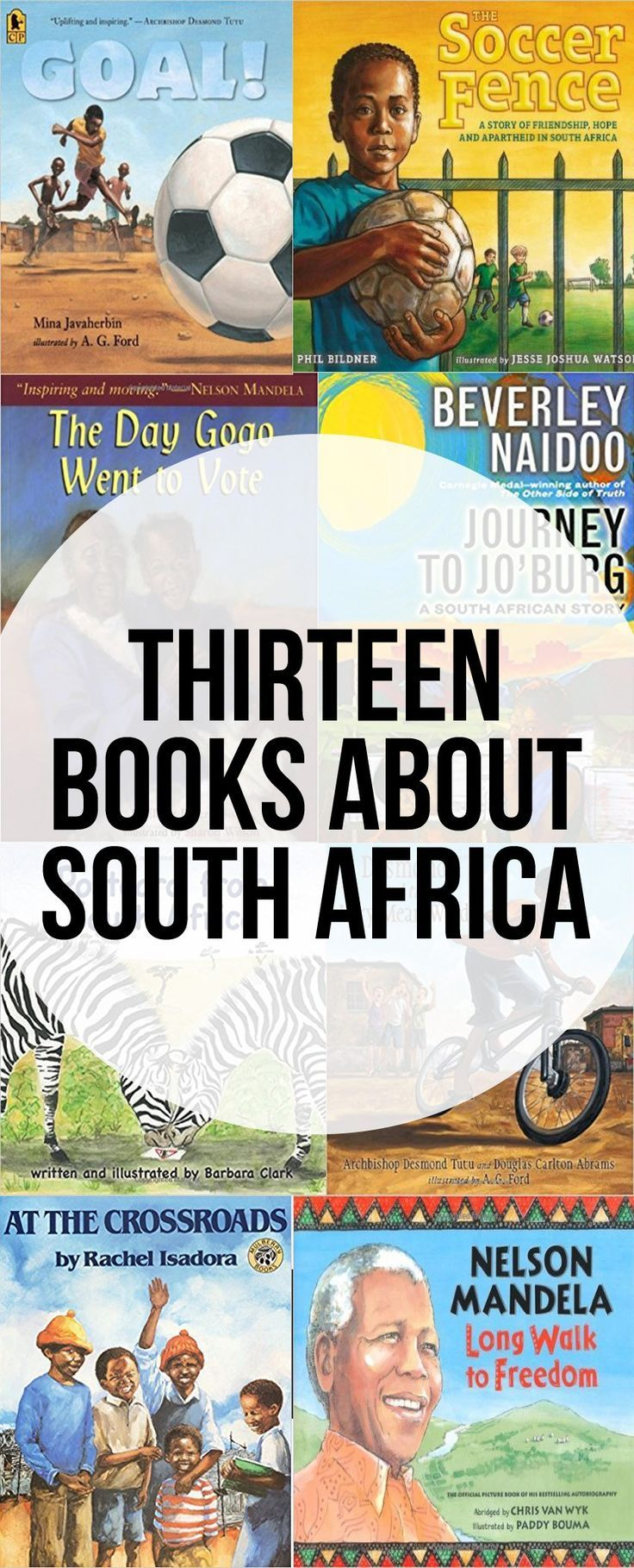13 Children's Books About South Africa