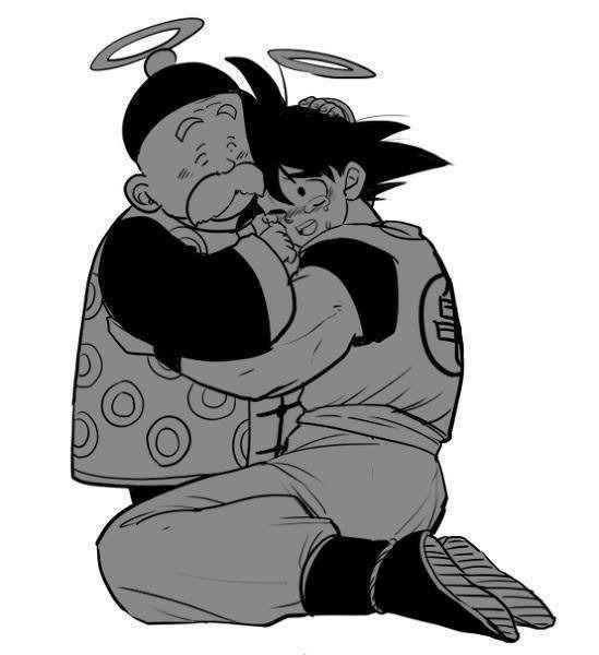 Que ternura! Para mí siempre Goku será es niño y esto refuerza más mi idea!