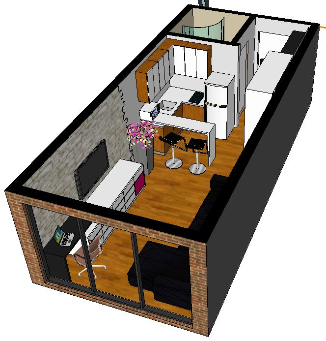 250 studio apartment 2006 floor plans pinterest studio apartment apartments and - The apartment in the garage a splendid parisian transformation ...