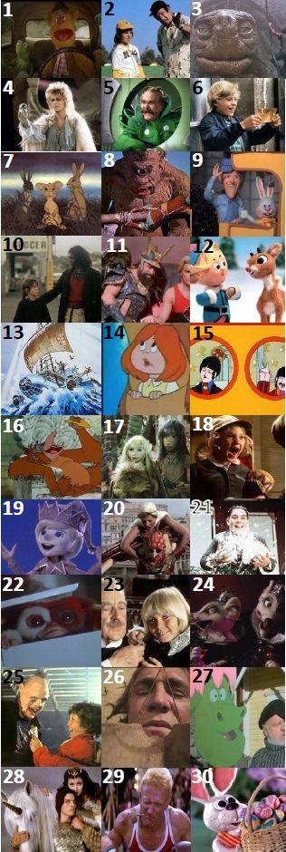 KIDS MOVIES - Can you name these kids movies from the 70s and 80s?