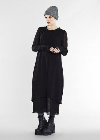 Reach Out Dress - Black