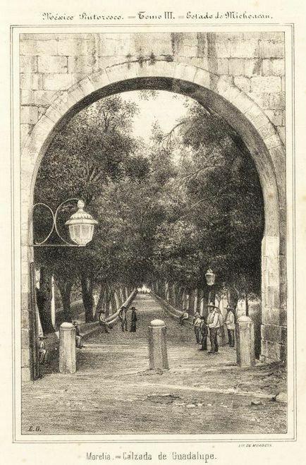 La calzada a principios del siglo Xx