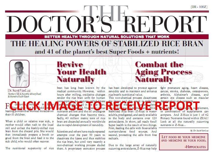 must read Zeal for Life doctors report www.dreambig4.zealforlife.com Www.baileymartindalezeal.zealforlife.com