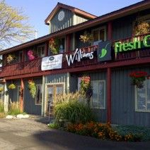 Welcome to Williams Fresh Cafe on Hamilton's Waterfront! Great to catch up with friends, hold a casual business meeting, have a relaxing meal with the family, whatever the purpose, Williams is the place to meet! We offer a large variety of healthy choices on our menu including breakfast, wraps, salads, carved turkey breast, pasta and quiche just to name a few.  Williams also serves specialty coffees and decadent desserts for your sweeter side.
