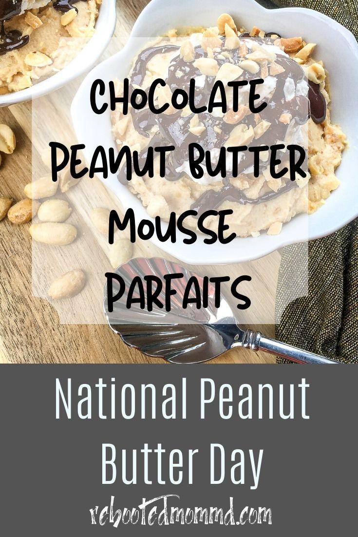 Chocolate Peanut Butter Parfaits In 2020 Yummy Food Dessert Peanut Butter Mousse Peanut Butter Recipes