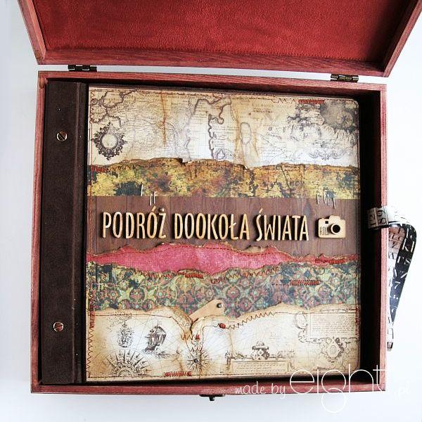 albumy handmade: RTW - Round The World czyli podróż dookoła świata