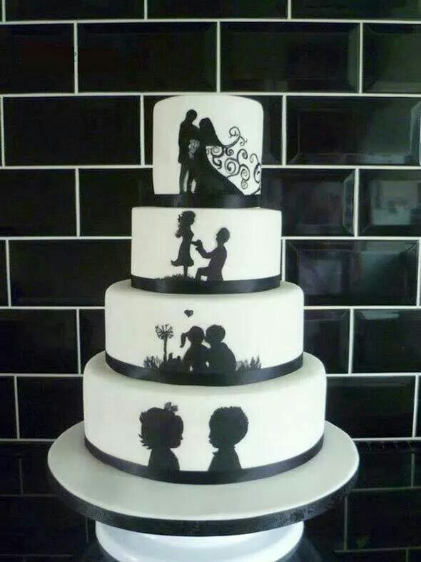Tell your love story in the cake...