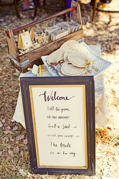 A cute hand-painted sign. Image: Sarah Kate Dorman