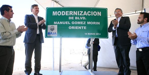 Inauguran modernización del bulevar Gómez Morín Oriente