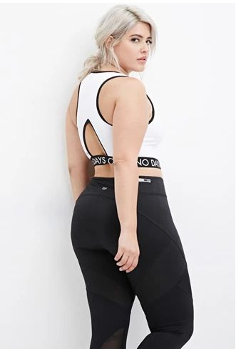 Trendy Plus Size Workout Clothes // fatgirlflow.com  http://wholesaleplussize.clothing/