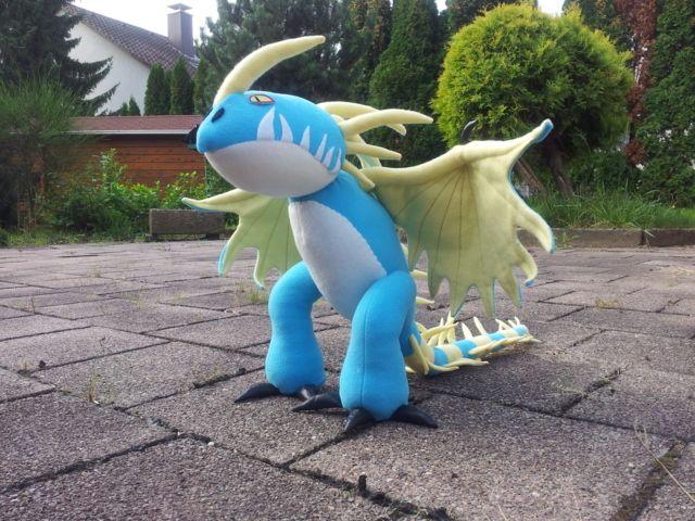 Sturmpfeil, der tödliche nadder nähen, Drache nähen, inspiriert von Drachen zähmen leicht gemacht