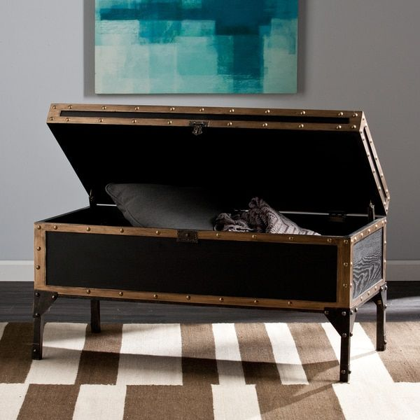 Harper Blvd Duncan Travel Trunk Cocktail/ Coffee Table