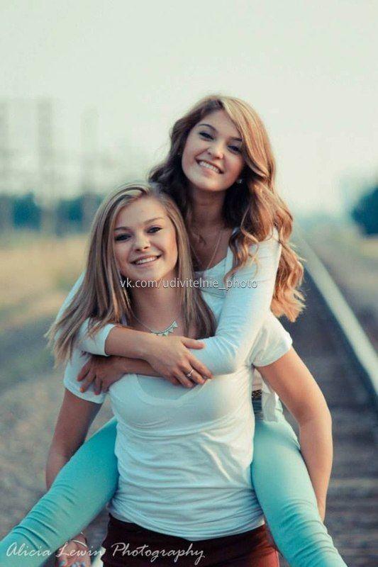 Идеи для фото подруг, сестер – 151 фотография