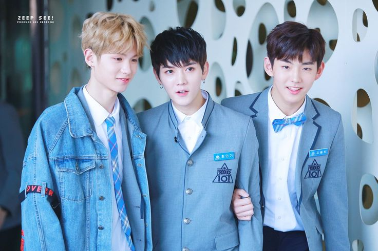 Justin, Ren and Kim Dongbin (김동빈)