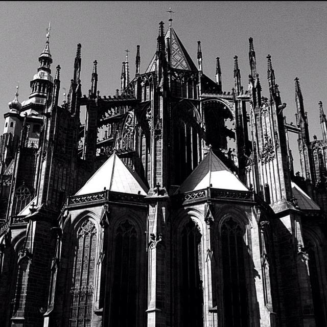 St Vitus cathedral, Prague castle, Czech Republic