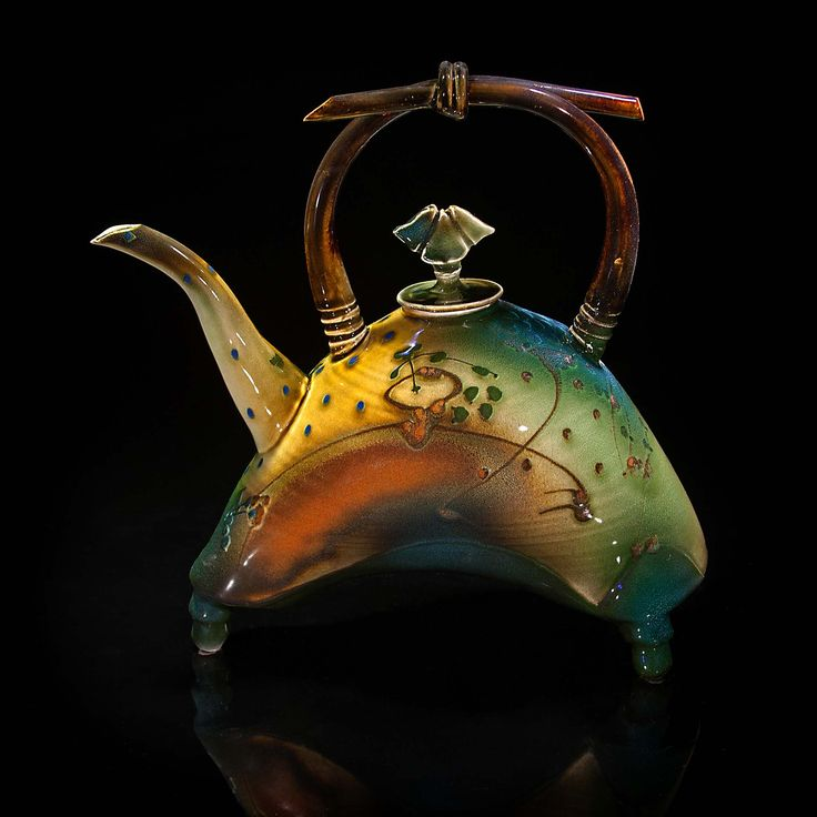 ceramic teapot by Creekside Pottery