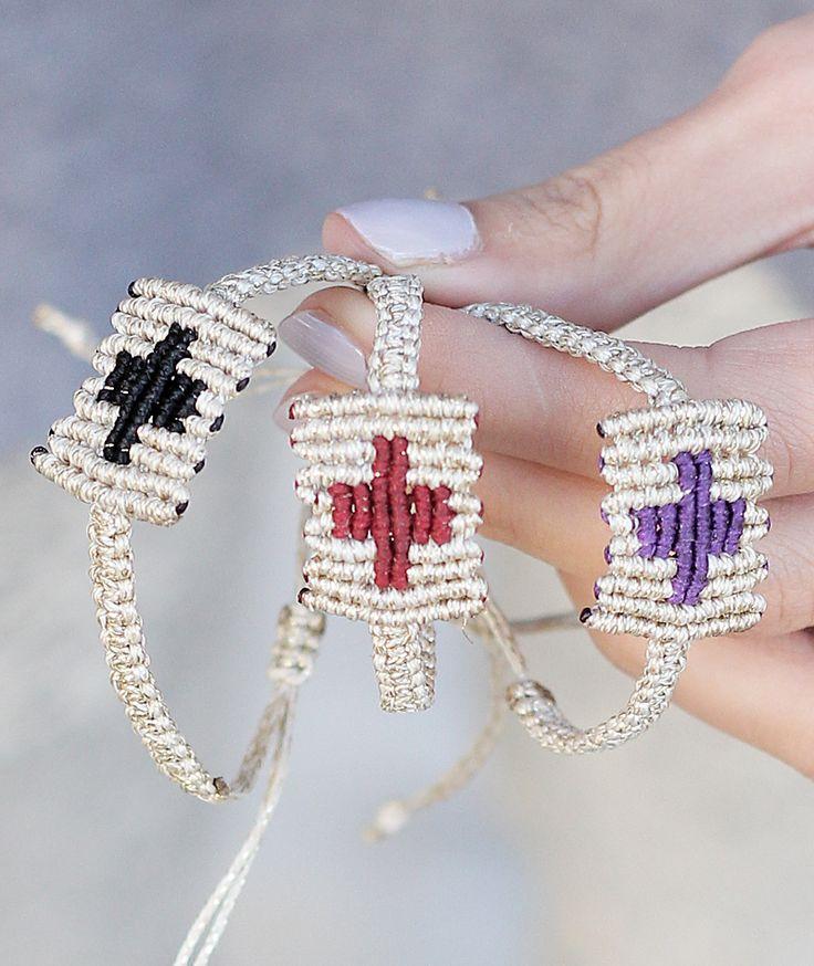 Tangle Cross Handmade Bracelet