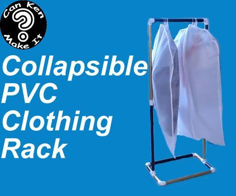 how to make a clothesline out of pvc pipe