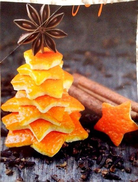 Ein duftendes Weihnachtsbäumchen.