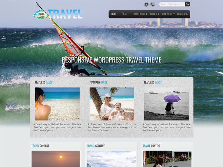 Travel Lite — Free WordPress Themes