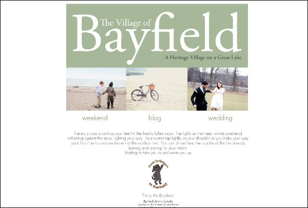 Bayfield!!!! love this place, just need a boat.