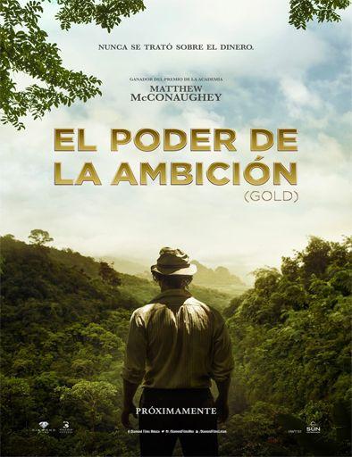 Poster de Gold (El poder de la ambición)