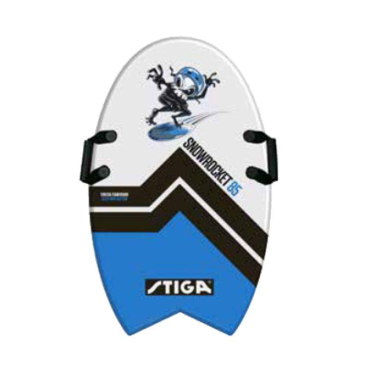 STIGA SPORTS Schaumstoffboard - Snow Rocket Blau #schaumstoffboard #schneerutscher #wintersport #schnee #spaßimschnee #schlitten #schlittenfahren #winterspaß #kinder
