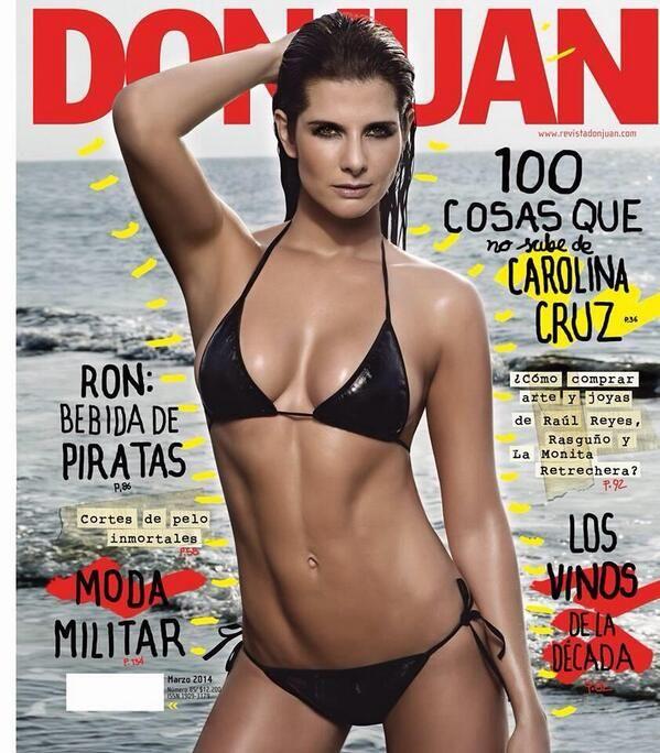 Carolina Cruz - Revista DON JUAN.