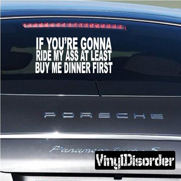 Best Car Fun Images On Pinterest Funny Bumper Stickers - Vinyl bumper stickers