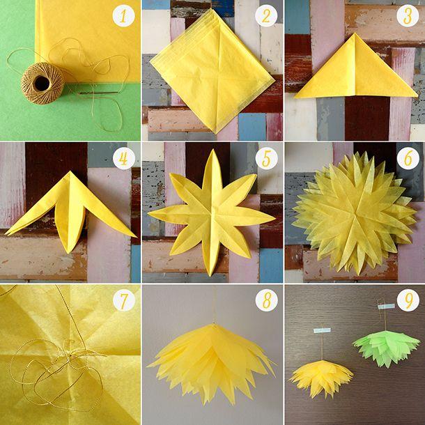 diy-bloem-papier  http://ninasstories.com/2013/06/13/diy-bloemen-van-vloeipapier/
