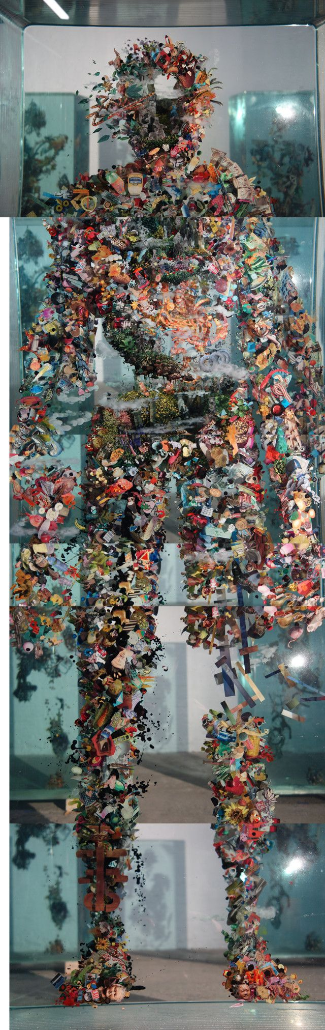 11 Best Art Images On Pinterest Author Authors And White People Designdautorecom Creative Creations From Recycled Circuit Board It Is Not Cryogenics Dustin Yellin