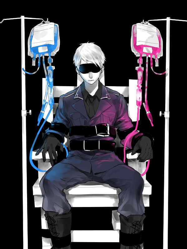 Prussia by Pixiv Id 3626736 Prussia Hetalia <<< What is happening to the personification of raw awesomeness?