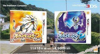 '' Pokémon moon and sun '' ist schon freigegeben !
