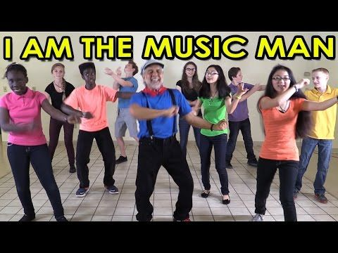 I am the Music Man - Action Songs for Children - Brain Breaks - Kids Songs by The Learning Station - YouTube