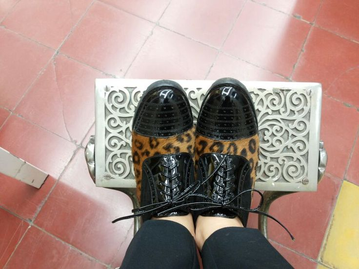 #shoes #leather #animalprint