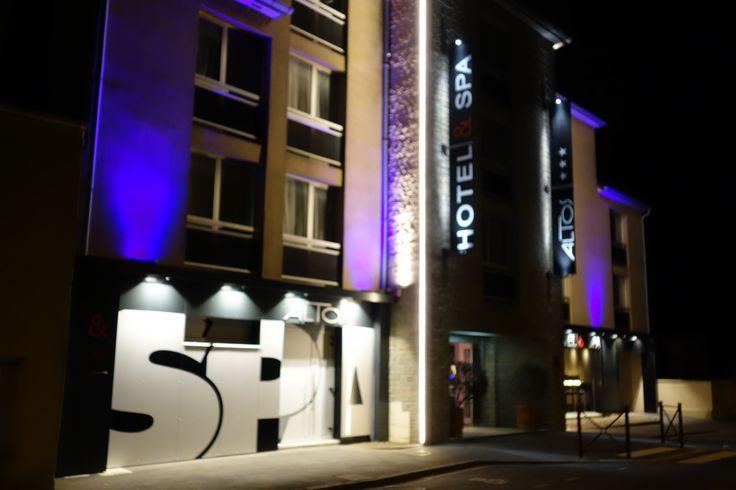 Entrée ALTOS Hotel Côté Spa