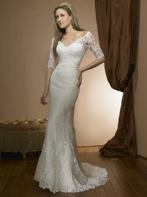 Allure Bridals L306 wedding dress reminds us of Bernice Bejo's (from The Artist) evening gown