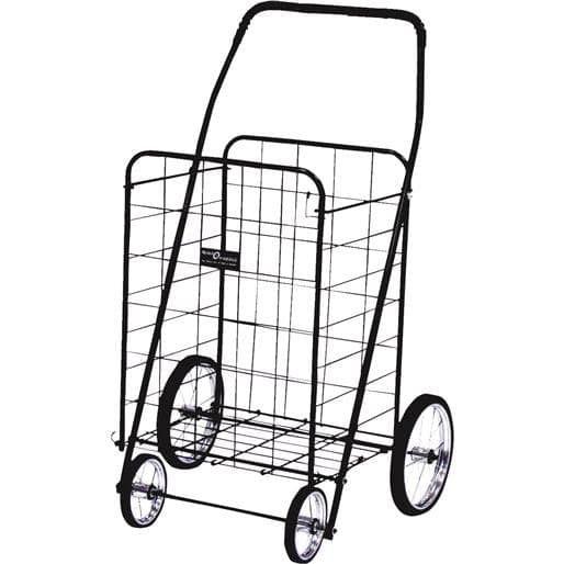 Narita Trading Jumbo Blk (Black) Shopping Cart NTC001-BK Unit: Each