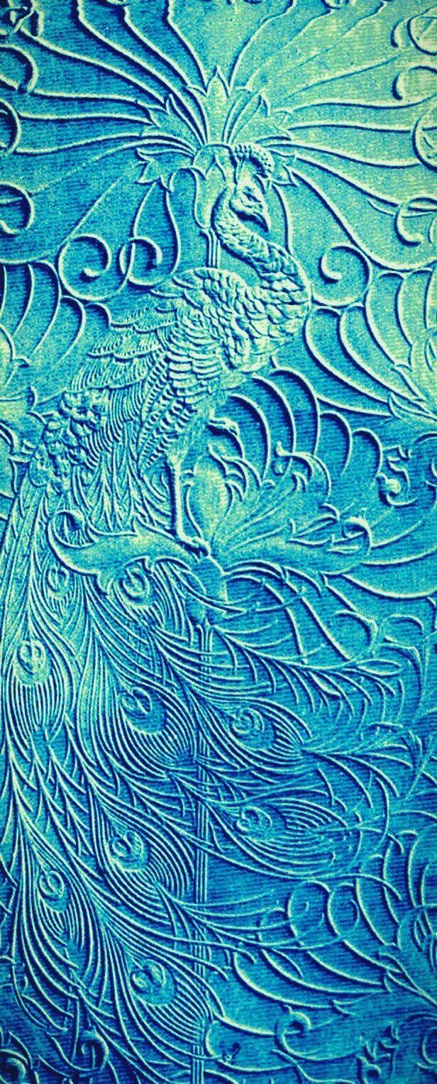 Peacock Lincrusta Wallpaper