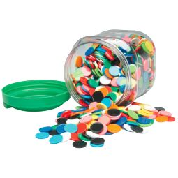 Coloured Counters Set of 1000