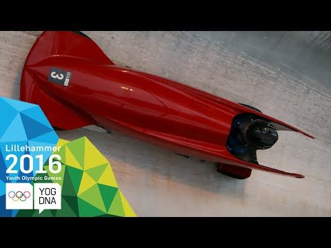 Monobob - Jonas Jannusch (GER) wins Men's gold | Lillehammer 2016 Youth Olympic Games - YouTube