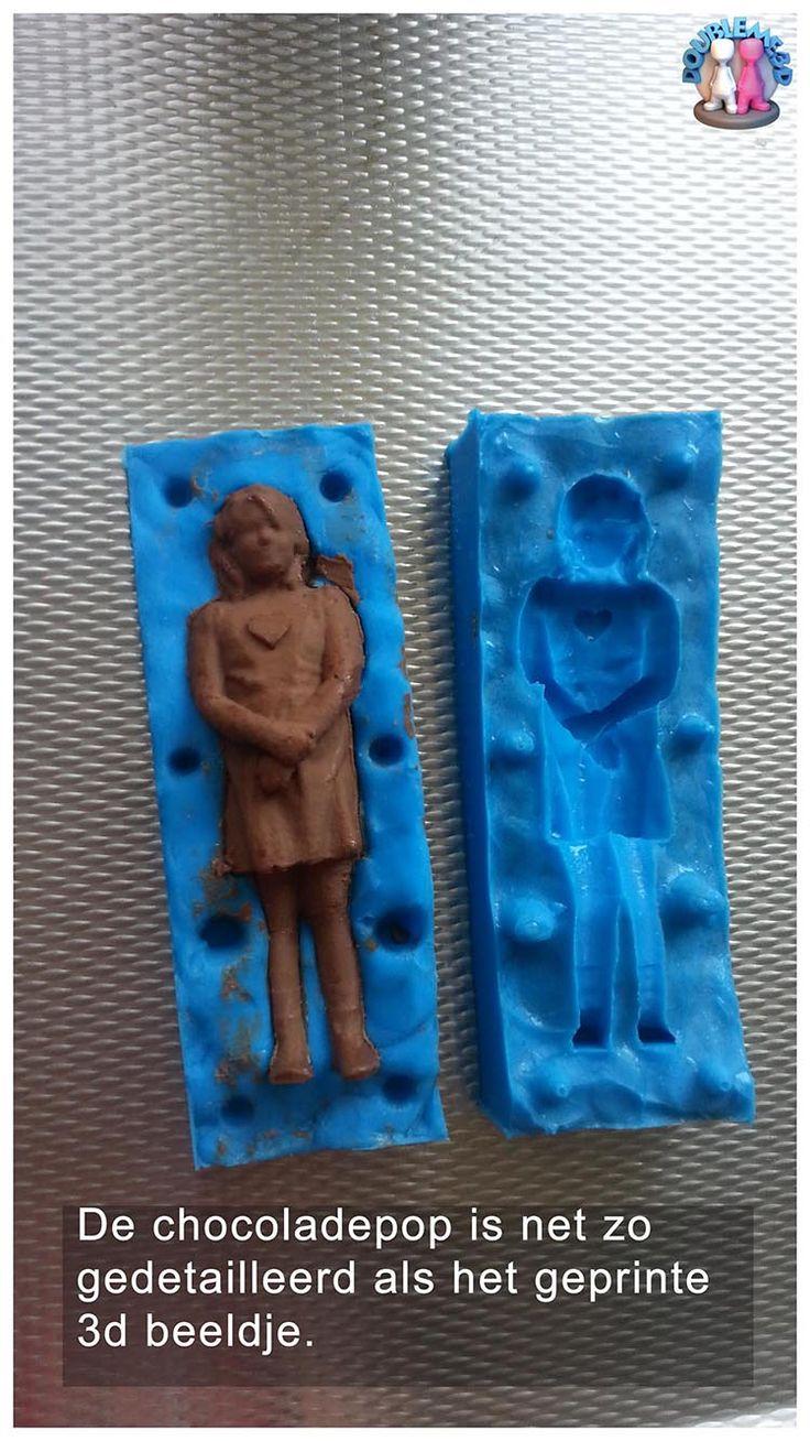 Chocolade 3D beeldje van jezelf