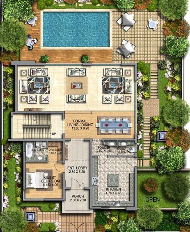 Qatar Al Rayyan Residential Development Villas Site Development Plan Architecture Site Plan Design Landscape Design Plans