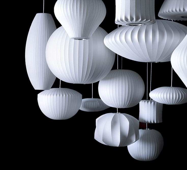 bubble lamp | George Nelson