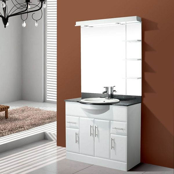 Small Bathroom Vanity White Colors