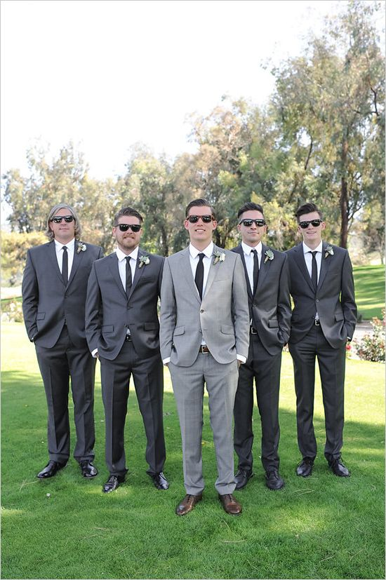 dark grey #groomsmen @weddingchicks
