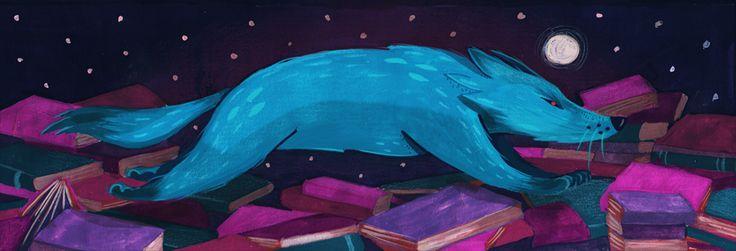 Illustration for Lupus Libri, http://lupuslibri.pl - Małgorzata Detner