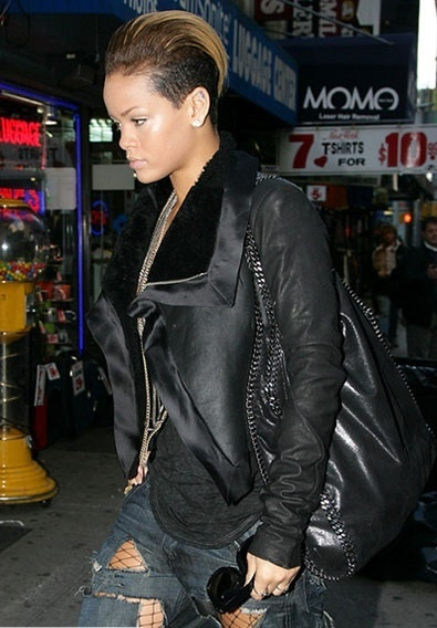 Rihanna with our #Falabella bag.