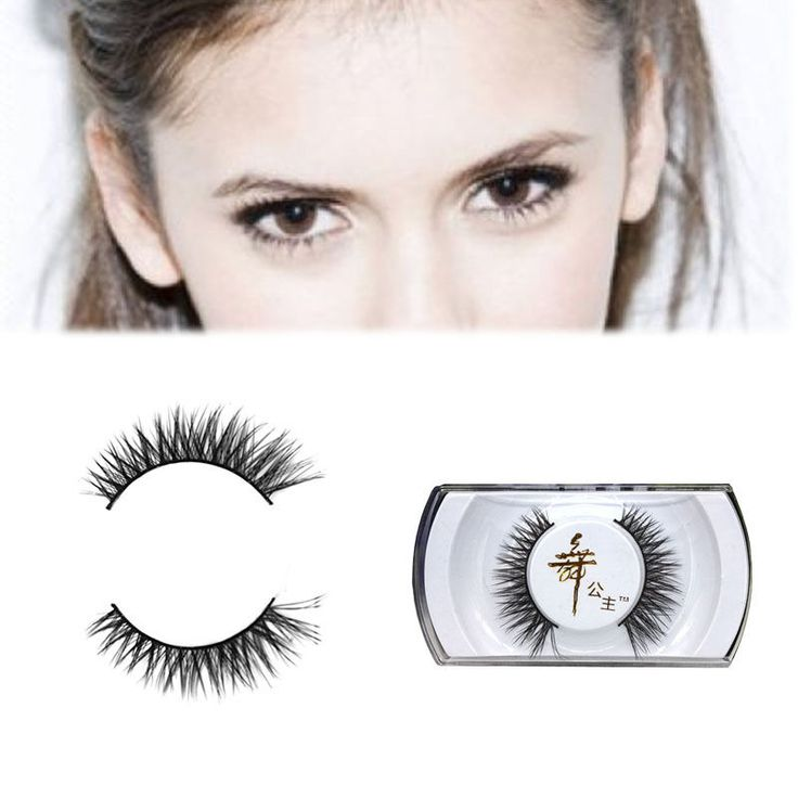 Soft Handmade Mink Hair Long Messy Natural False Eyelashes Makeup Eye lashes  | eBay